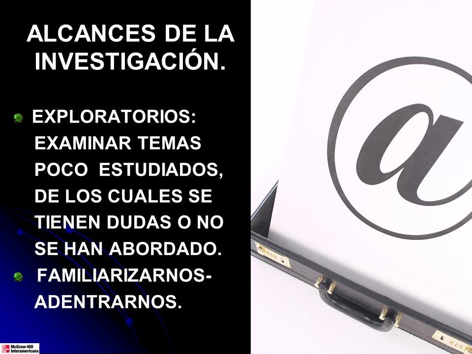EJEMPLOS DE EXPLORATORIOS EN SU MOMENTO.SIDA (VIH).