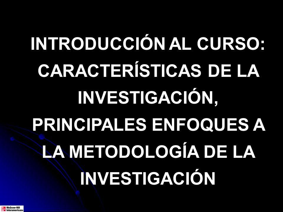 PRINCIPALES DERIVACIONES DE LOS PARADIGMAS: ENFOQUES.
