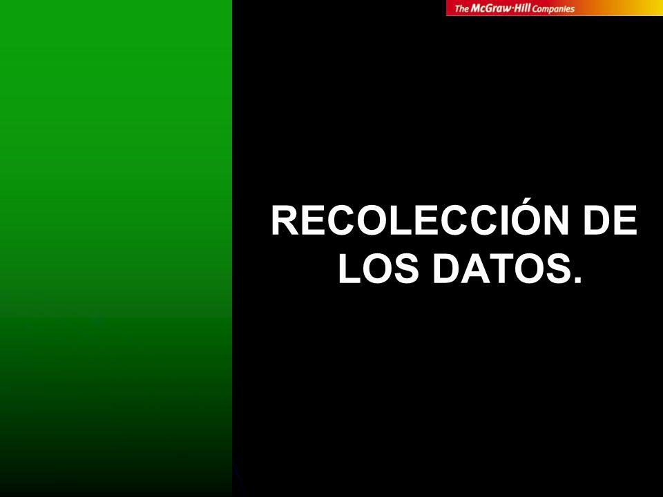 RECOLECCIÓN DE LOS DATOS (CUANTI).INTERÉS POR MEDICIÓN.