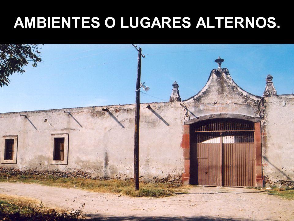 AMBIENTES O LUGARES ALTERNOS.