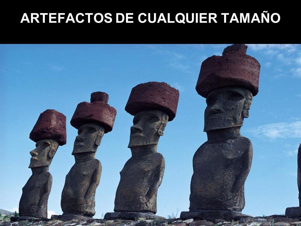 ARTEFACTOS DE CUALQUIER TAMAÑO