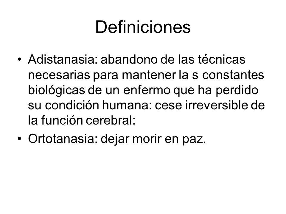 ¿Cómo definir al enfermo terminal.