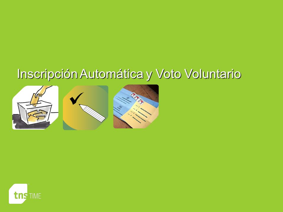 Inscripción Automática y Voto Voluntario