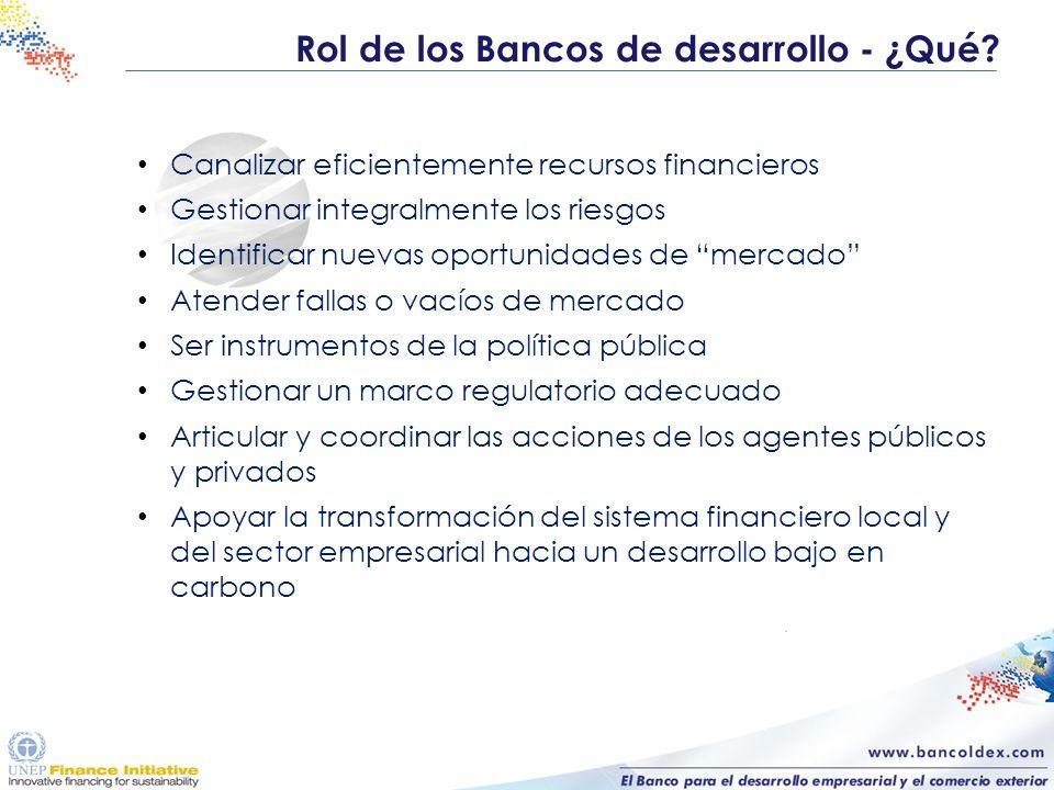 Canalizar eficientemente recursos financieros Gestionar integralmente los riesgos Identificar nuevas oportunidades de mercado Atender fallas o vacíos