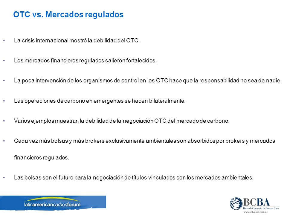 Regulated Exchanges Fuente: WFE