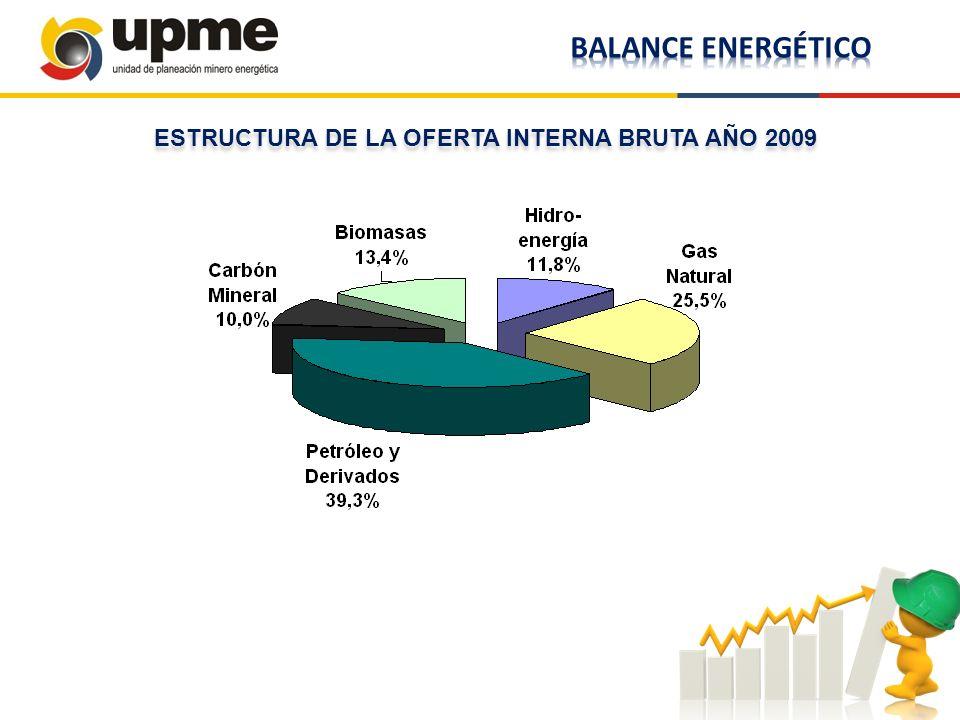 ESTRUCTURA DE LA OFERTA INTERNA BRUTA AÑO 2009