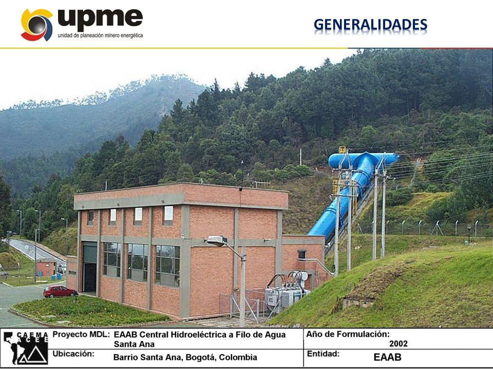 PROYECTO HIDROELECTRICO SANTA ANA Pequeña central hidroeléctrica de 13.43 MW.