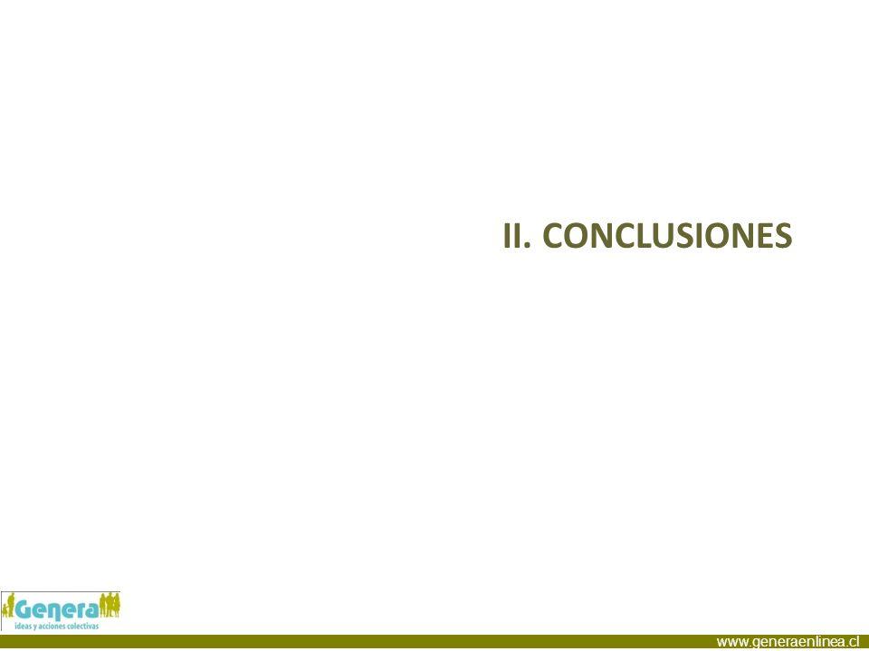 www.generaenlinea.cl II. CONCLUSIONES