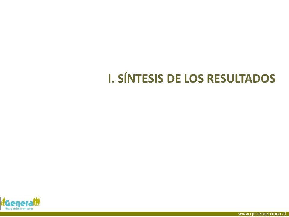 I. SÍNTESIS DE LOS RESULTADOS