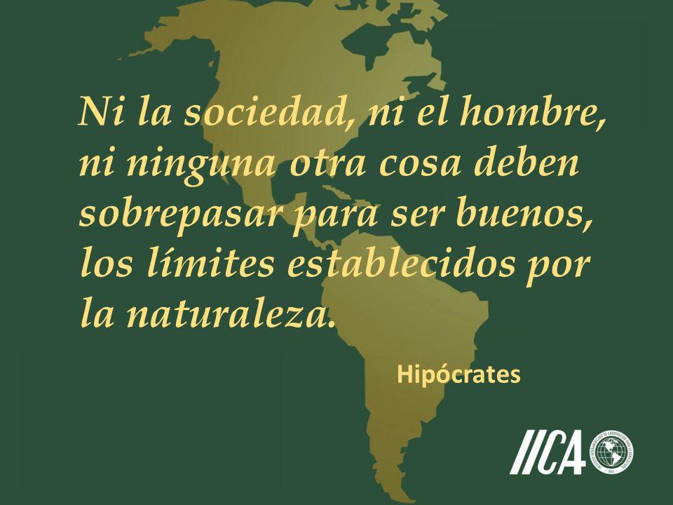 Ni la sociedad, ni el hombre, ni ninguna otra cosa deben sobrepasar para ser buenos, los límites establecidos por la naturaleza. Hipócrates