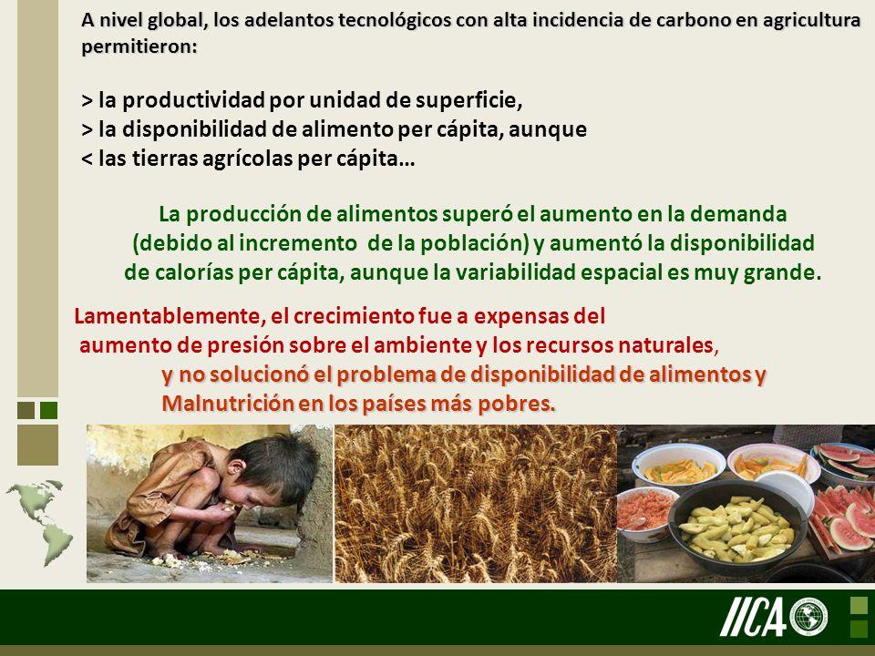 La agricultura no es algo que se añore, la agricultura no es solamente una tradición.