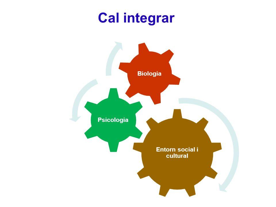 Cal integrar Entorn social i cultural Psicologia Biologia