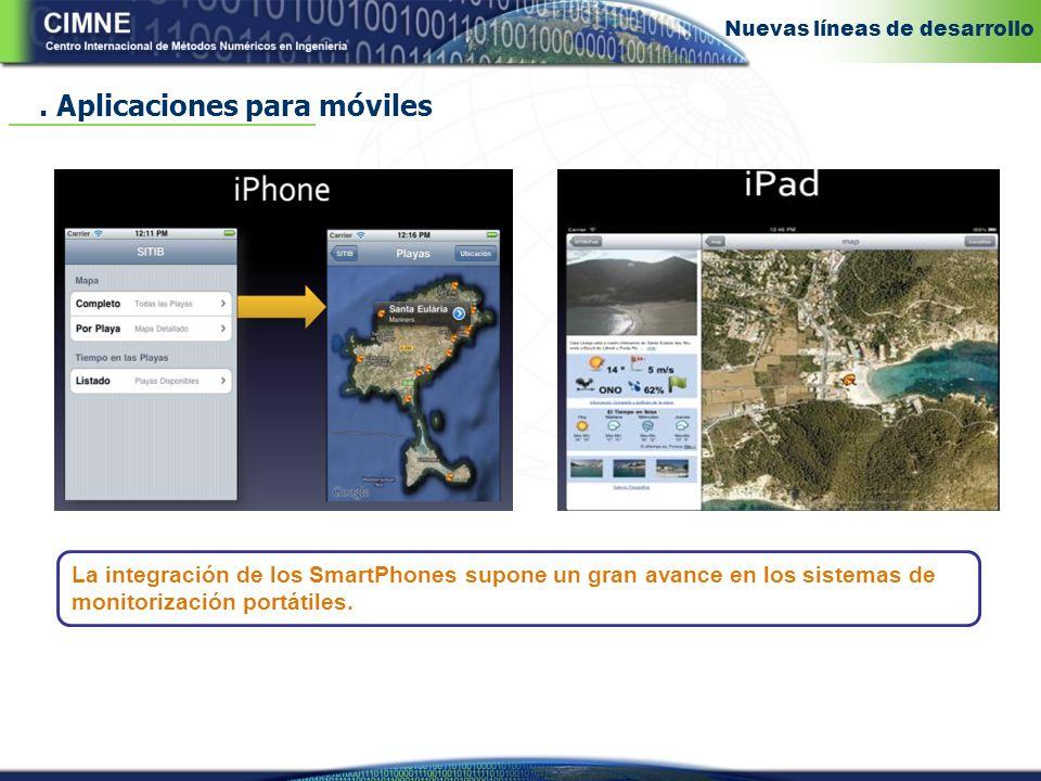 La integración de los SmartPhones supone un gran avance en los sistemas de monitorización portátiles..