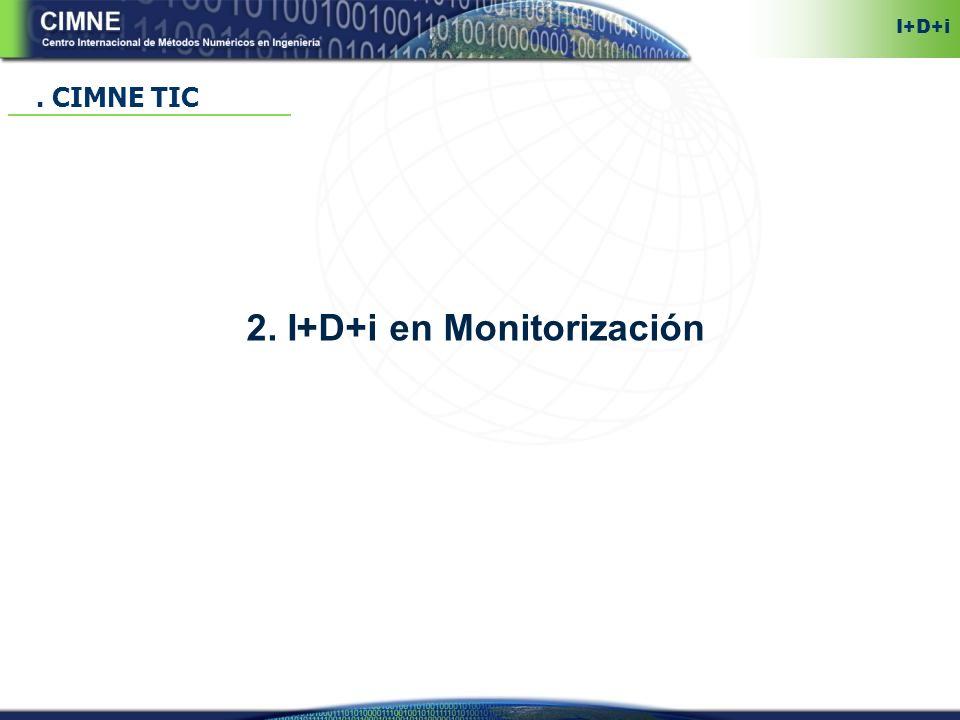 2. I+D+i en Monitorización. CIMNE TIC I+D+i
