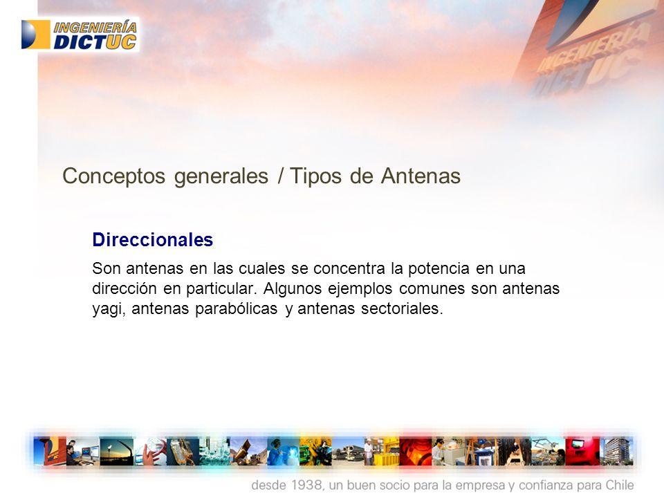 AntenaYagi Conceptos generales / Tipos de Antenas