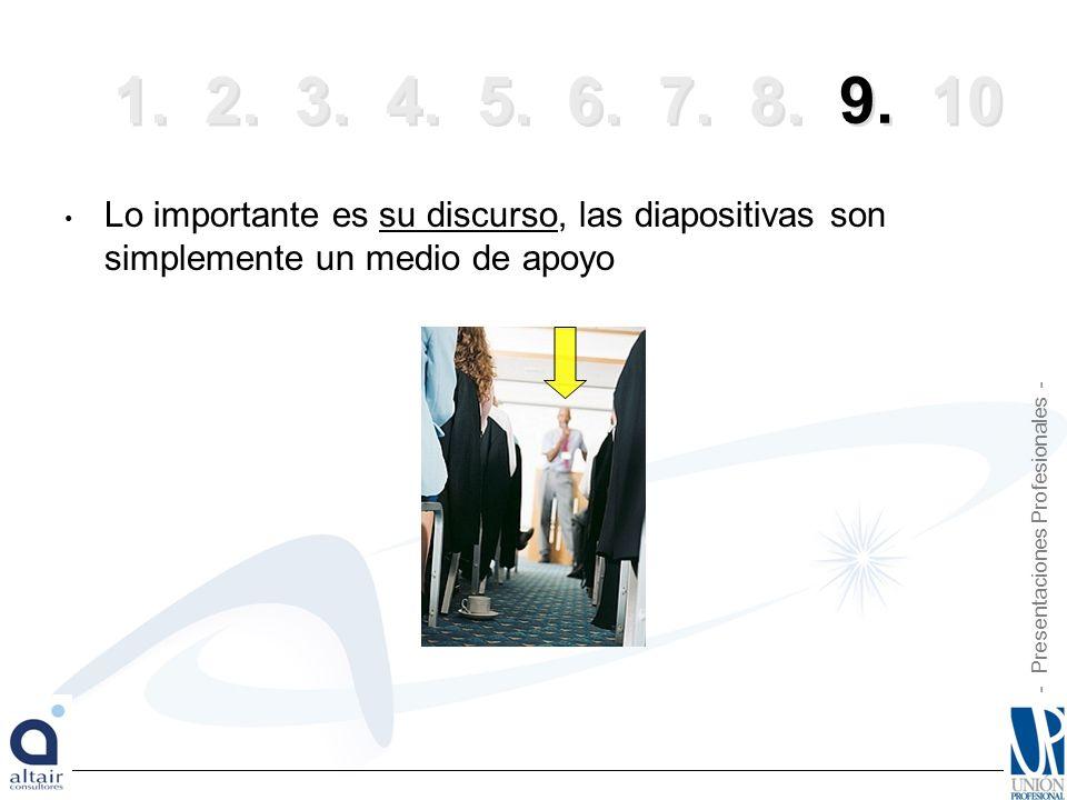 - Presentaciones Profesionales - 1.2. 3. 4. 5. 6.