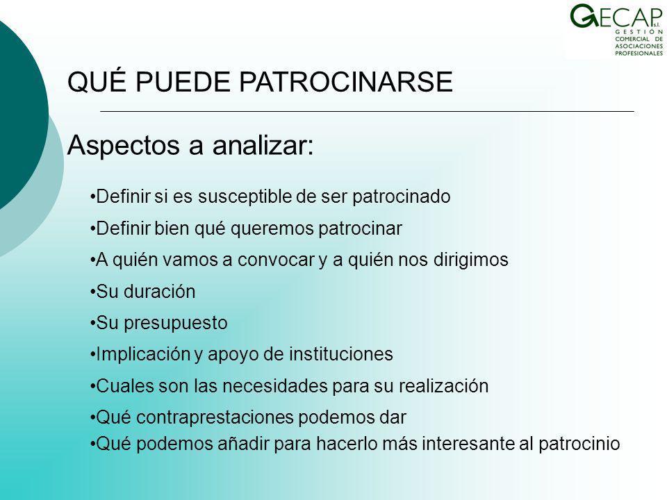 PATROCINIO Y CAPTACIÓN DE RECURSOS EN LAS ORGANIZACIONES COLEGIALES MADRID, 10 DE NOVIEMBRE 2009