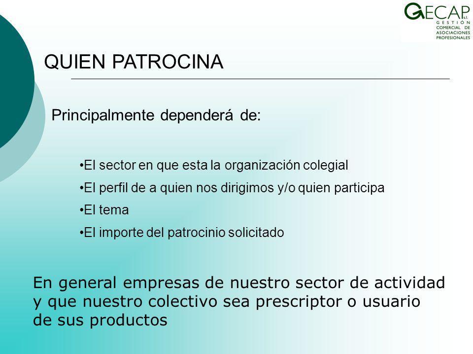 Departamento comercial propio con el desarrollo correspondiente de estructura de personal interna Departamento comercial propio con el desarrollo correspondiente de estructura de personal externa a través de outsourcing LA PROFESIONALIZACIÓN DE LA GESTIÓN COMERCIAL EN LAS ORGANIZACIONES COLEGIALES.