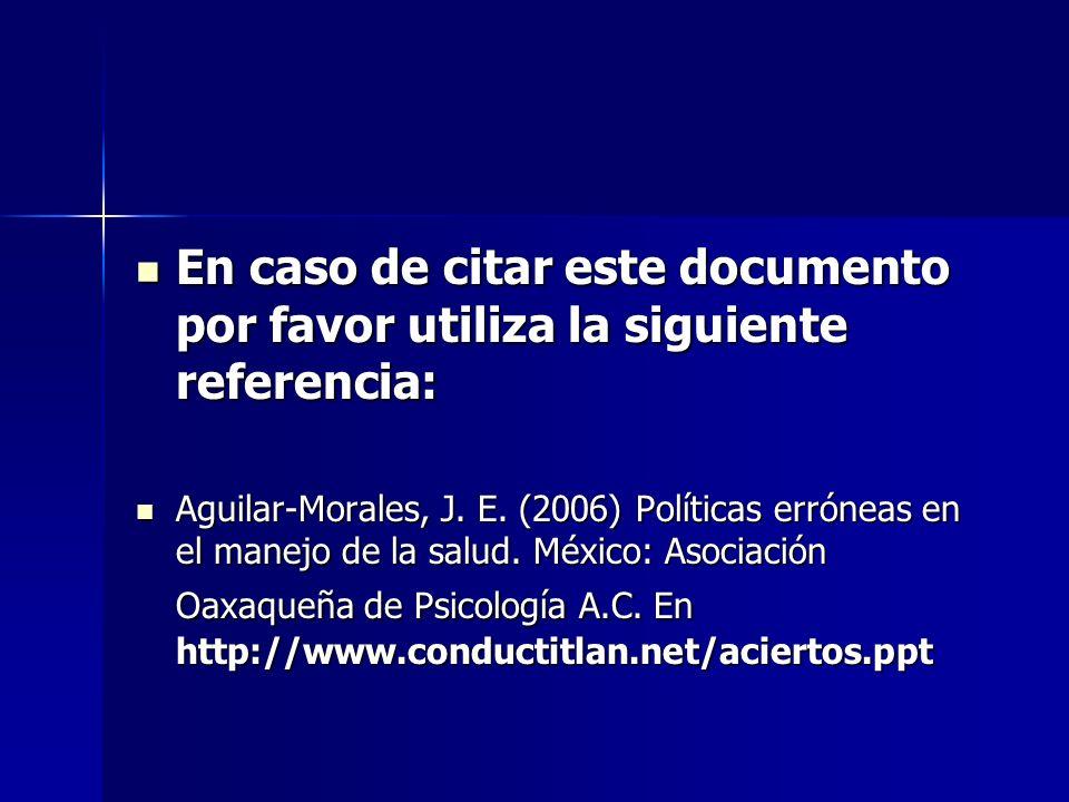En caso de citar este documento por favor utiliza la siguiente referencia: En caso de citar este documento por favor utiliza la siguiente referencia: Aguilar-Morales, J.
