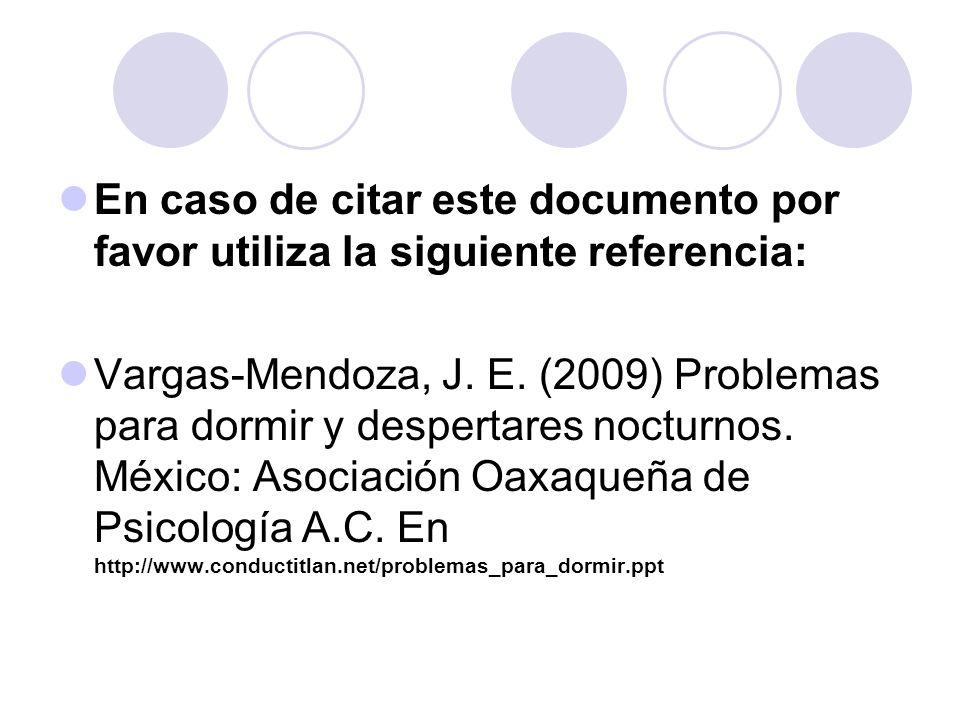 En caso de citar este documento por favor utiliza la siguiente referencia: Vargas-Mendoza, J.