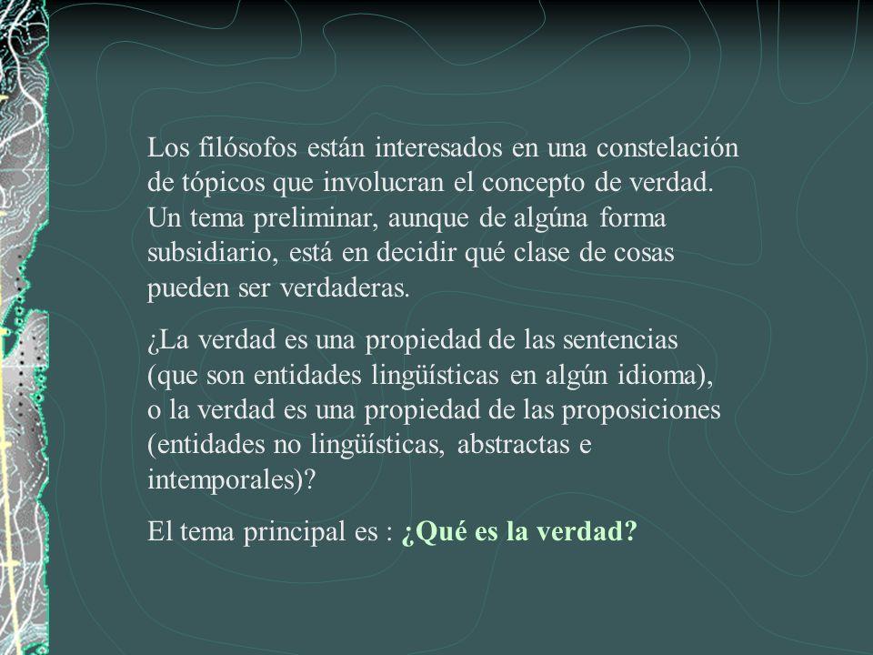 I.El Problema Principal.