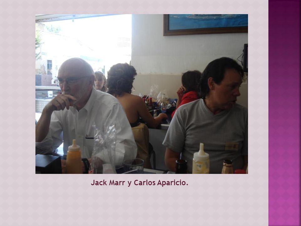 Jack Marr y Carlos Aparicio.