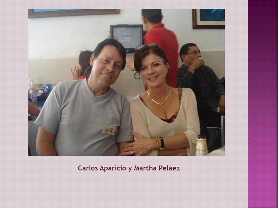 Carlos Aparicio y Martha Peláez