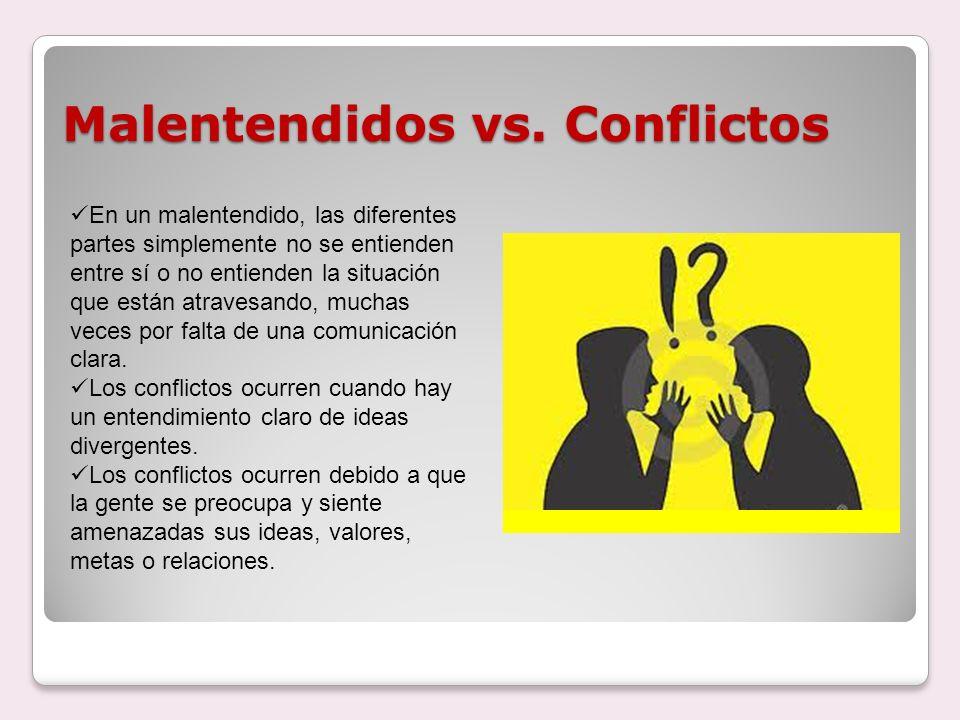Características de los Conflictos En un conflicto, tiene que haber: Al menos dos partes (personas, grupos, organizaciones, países).