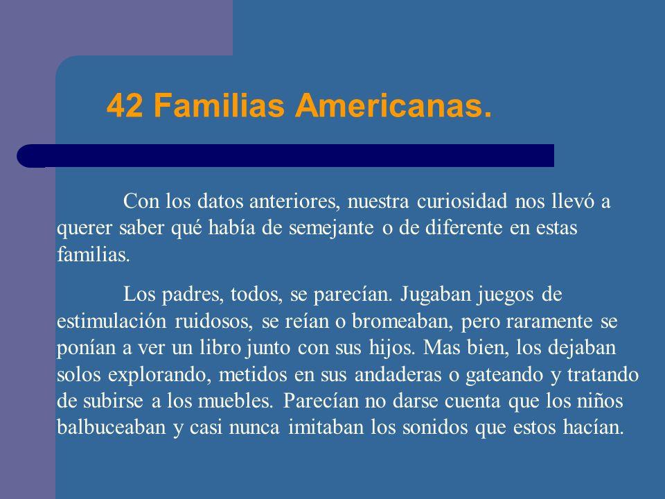 42 Familias Americanas.