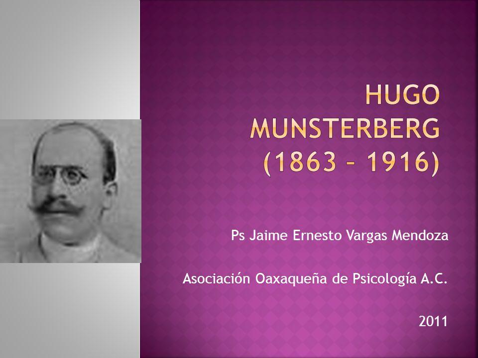 Ps Jaime Ernesto Vargas Mendoza Asociación Oaxaqueña de Psicología A.C. 2011