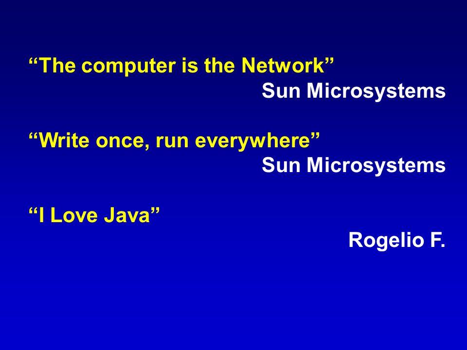 Contenido 1) Historia 2) Características de Java 3) Plataforma Java 4) Descargar Software 5) Instalar Software 6) Aplicaciones Interfaz Gŕáfica