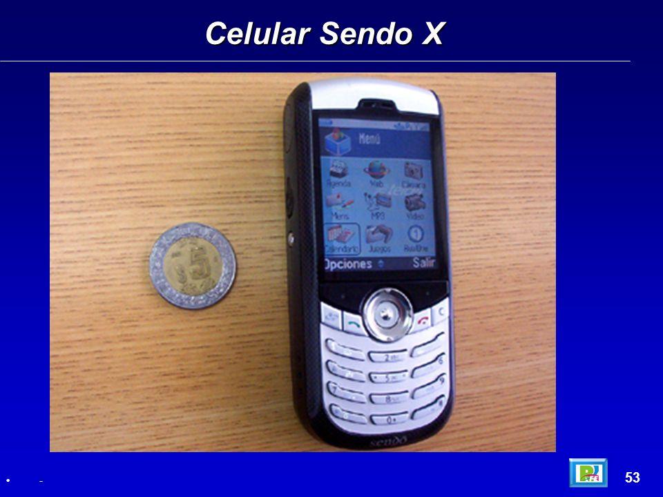 Celular Sendo X 53 -