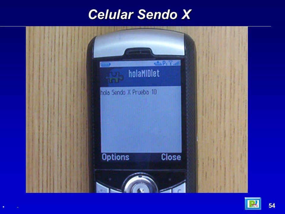 Celular Sendo X 54 -