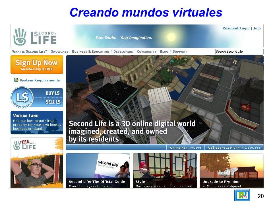 20 Creando mundos virtuales