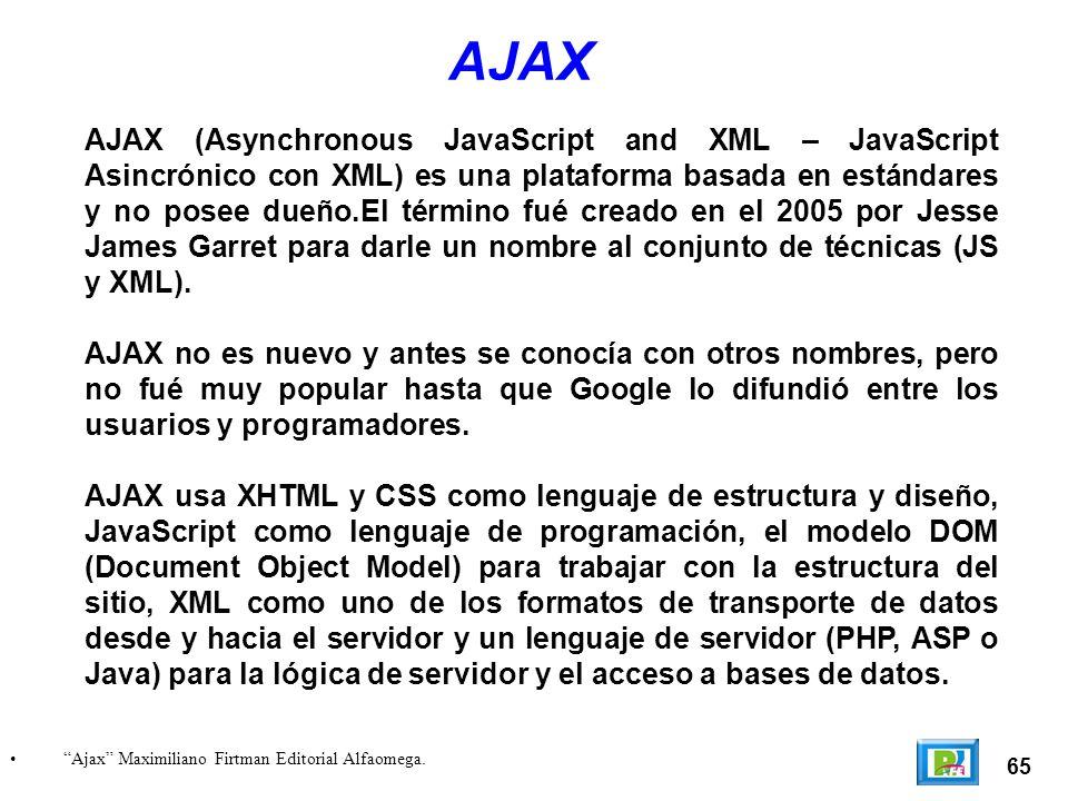 65 Ajax Maximiliano Firtman Editorial Alfaomega.