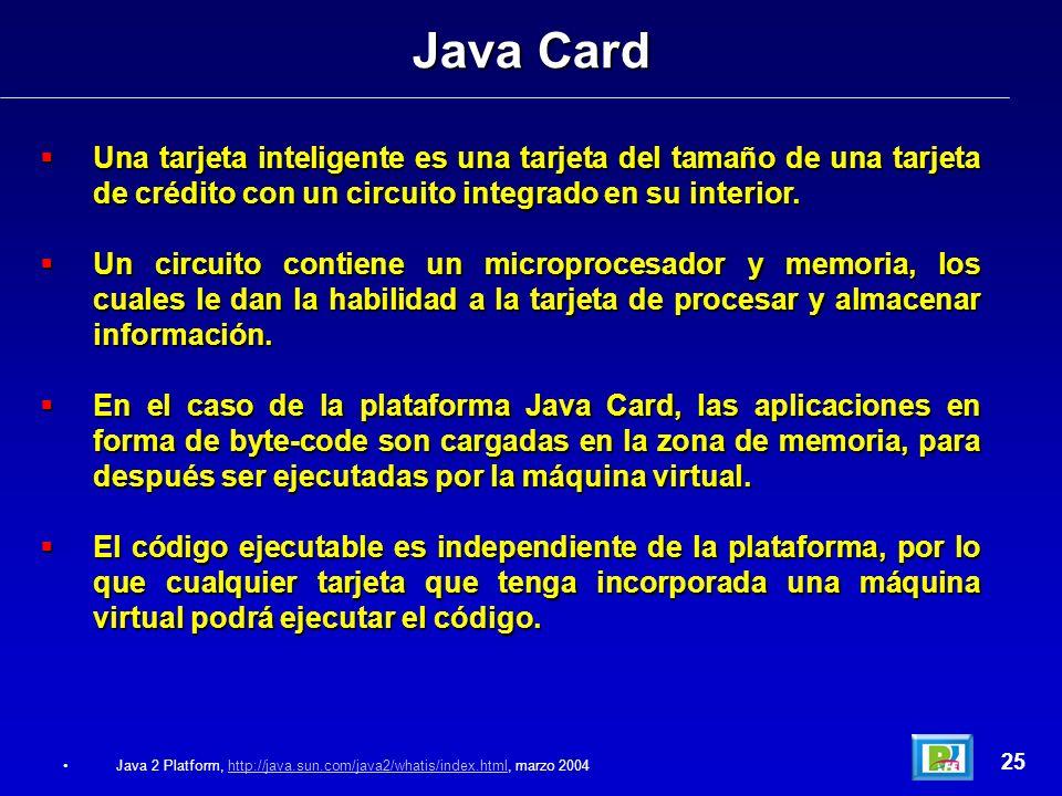 Una tarjeta inteligente es una tarjeta del tamaño de una tarjeta de crédito con un circuito integrado en su interior. Una tarjeta inteligente es una t