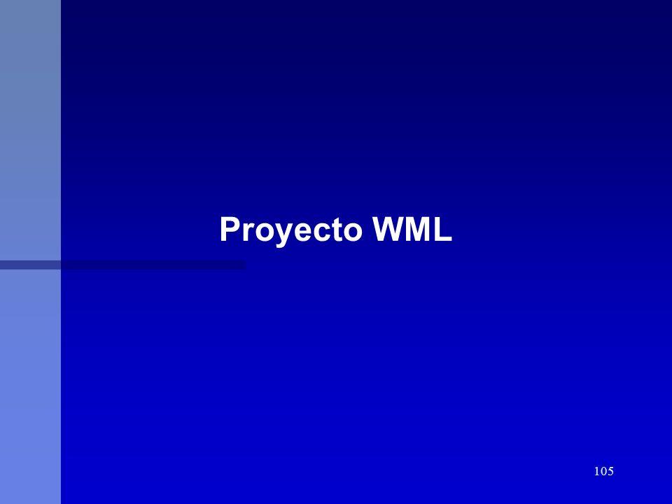 105 Proyecto WML