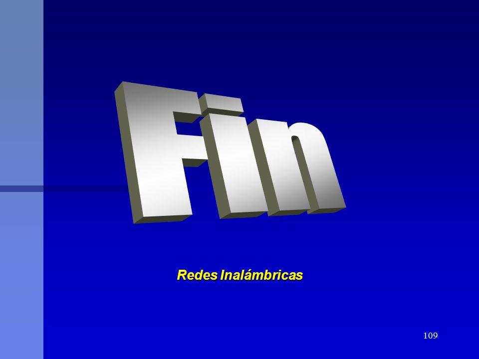 109 Redes Inalámbricas