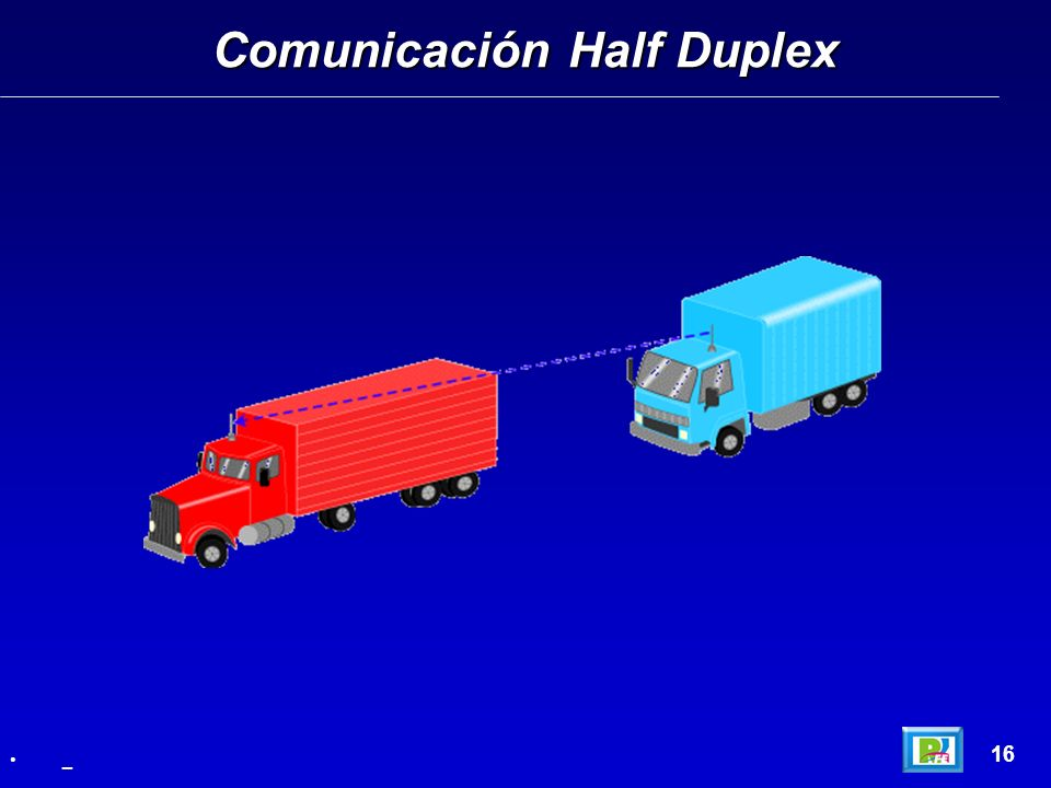 Comunicación Half Duplex 16 _