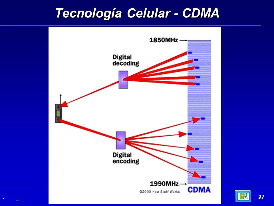 Tecnología Celular - CDMA 27 _