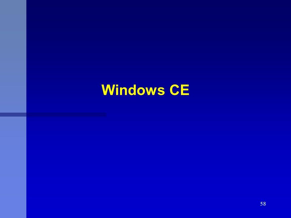 58 Windows CE