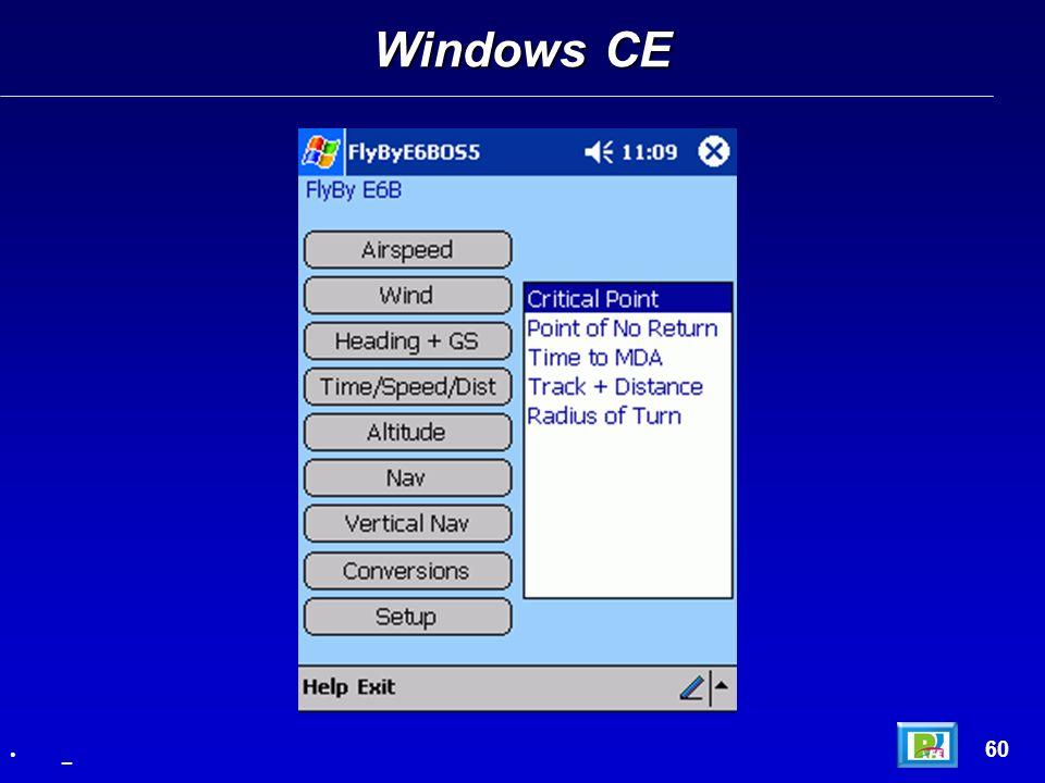 Windows CE 60 _