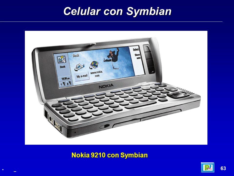 Celular con Symbian 63 _ Nokia 9210 con Symbian