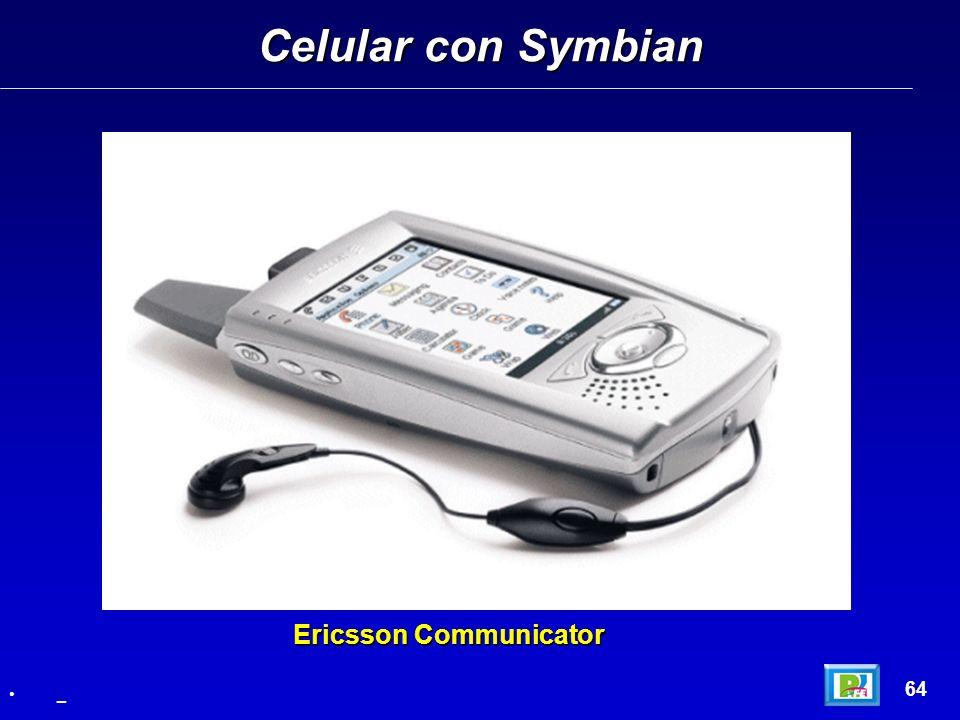 Celular con Symbian 64 _ Ericsson Communicator