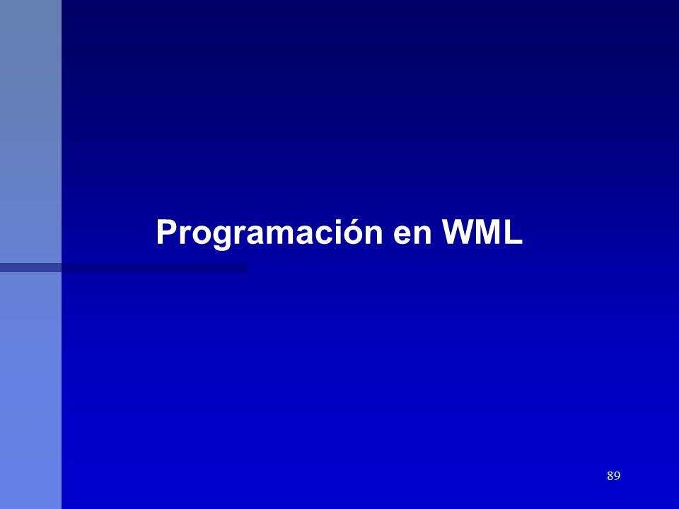 89 Programación en WML