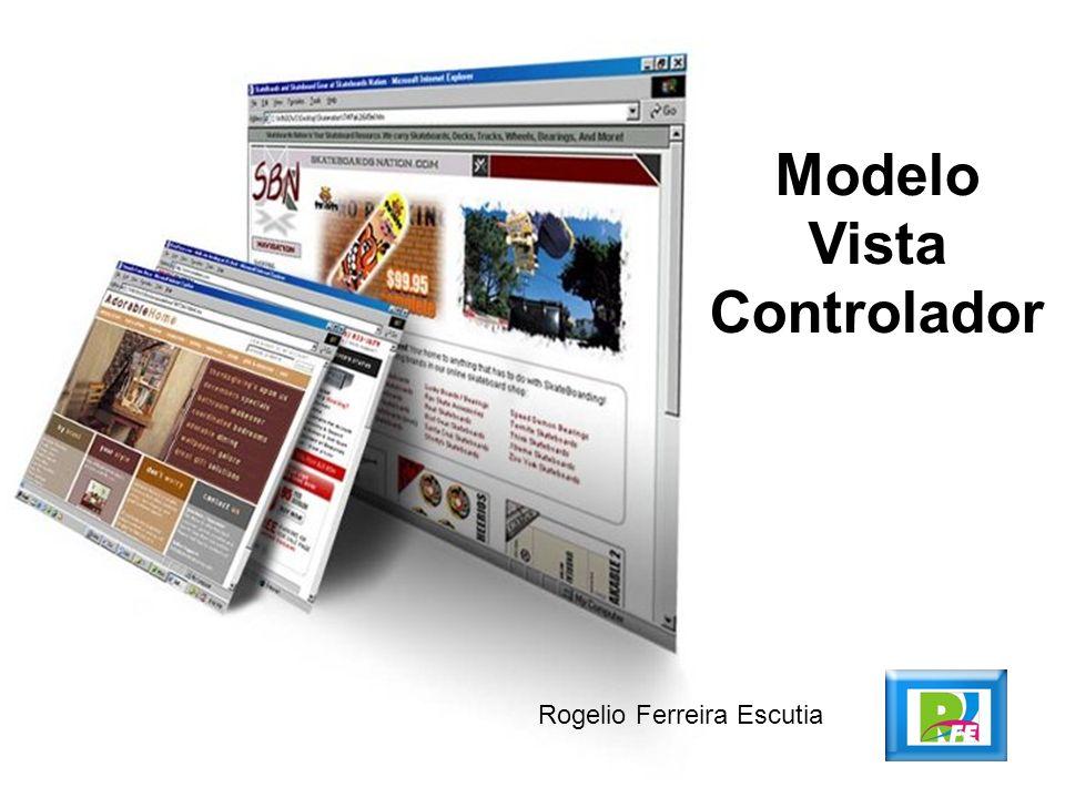 Rogelio Ferreira Escutia Modelo Vista Controlador