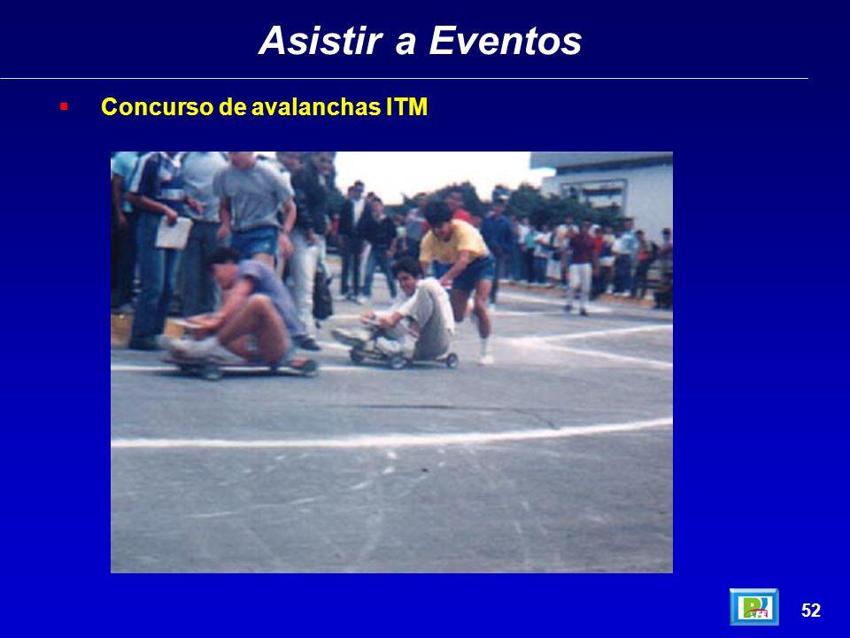 Asistir a Eventos 51 Concurso de Tragones, ITM abril 1995