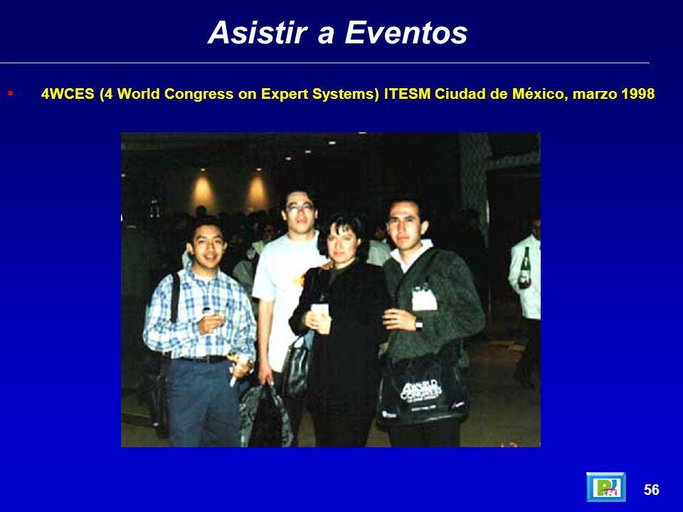 Asistir a Eventos 55 COMDEX México 98 – Palacio de los Deportes, México D.F.