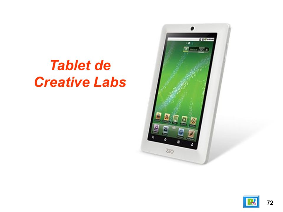 72 Tablet de Creative Labs