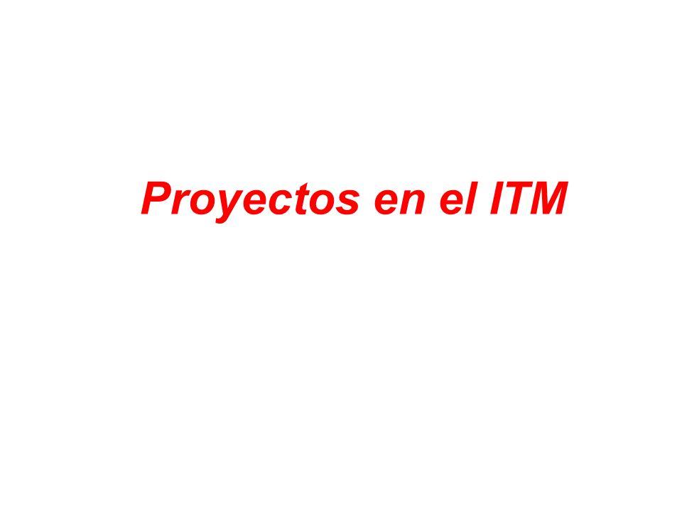 Proyectos en el ITM